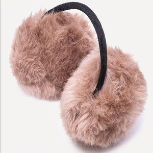 🎃(5/$20) Mauve Fluffy Earmuffs